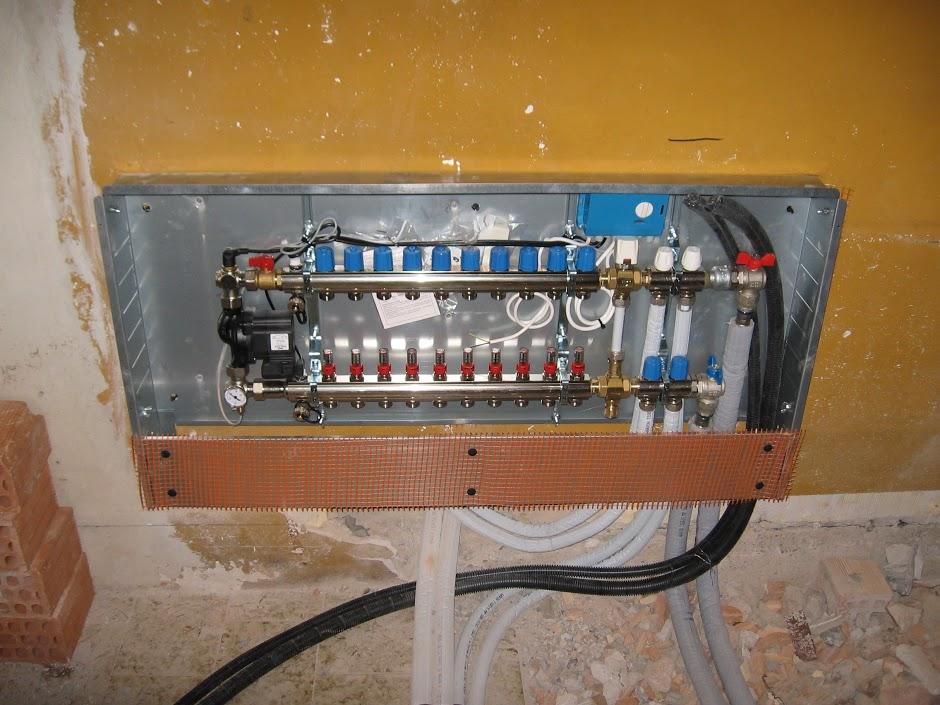 Riscaldamento a pavimento termoidraulica treviso polles fabio
